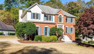 Kennesaw Single Family Home For Sale: 2191 NW Nine Oaks Drive NW