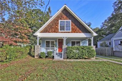 Atlanta Single Family Home For Sale: 2738 Hosea L Williams Drive NE