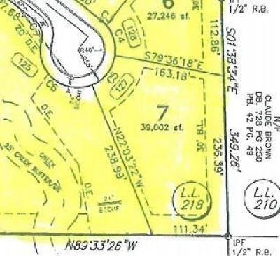 Land/Farm For Sale: 127 Landon Dr Dev