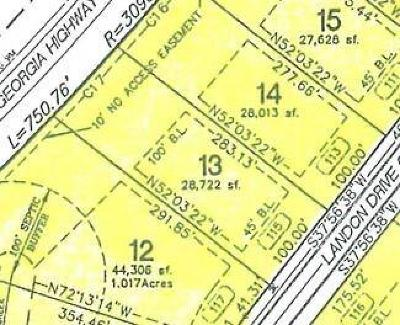 Land/Farm For Sale: 115 Landon Dr Dev
