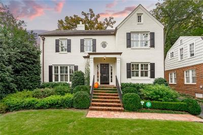 Single Family Home For Sale: 1893 Wycliff Road NW