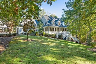 White Single Family Home For Sale: 240 Sutallee Ridge Lane NE
