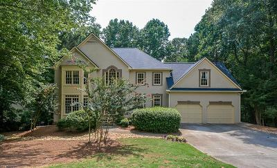 Lawrenceville Single Family Home For Sale: 500 Woodbrook Way