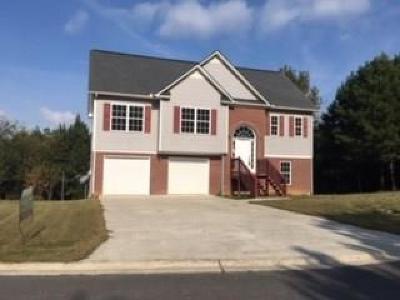Calhoun Single Family Home For Sale: 123 Jarrett Drive