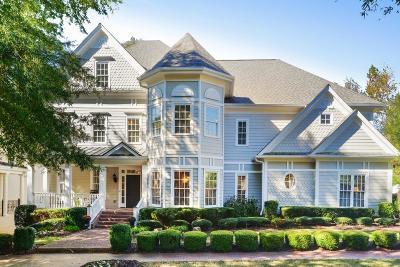 Alpharetta Single Family Home For Sale: 8111 Lawnview