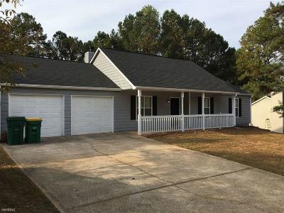 Woodstock Single Family Home For Sale: 1228 W Wylie Bridge Ridge