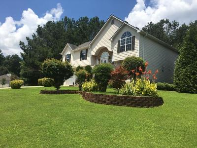 Acworth Single Family Home For Sale: 556 Hickory Lake Drive