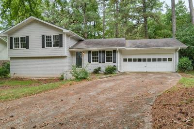 Roswell Single Family Home Contingent-Due Diligence: 235 Windflower Trace