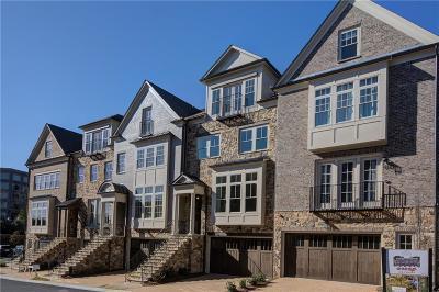 Atlanta Condo/Townhouse For Sale: 713 Abbington River Lane
