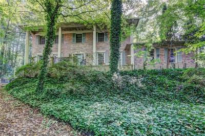 Sandy Springs Single Family Home For Sale: 1040 Edgewater Drive
