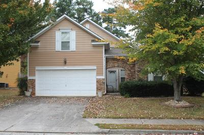Kennesaw Single Family Home For Sale: 3429 Palm Circle NW