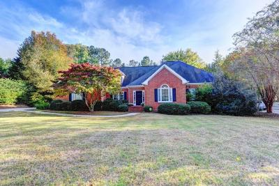 Roswell Single Family Home Contingent-Due Diligence: 440 Clubfield Drive
