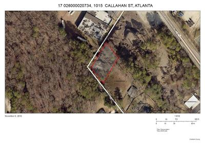 Land/Farm For Sale: 1015 Callahan Street NW