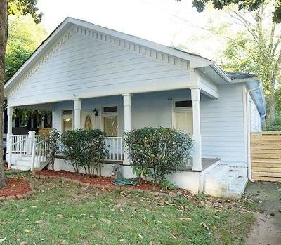 Single Family Home For Sale: 457 Hill Street SE