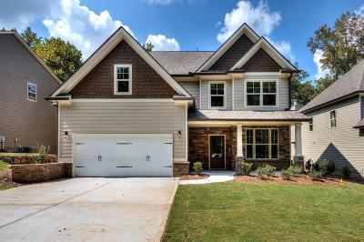 Cartersville Single Family Home For Sale: 12 Bridgestone Way SE