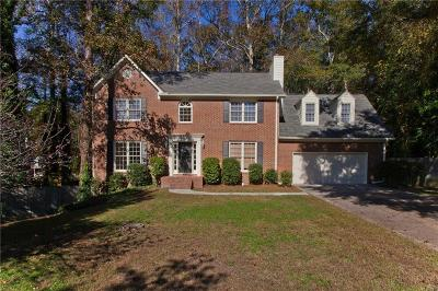 Powder Springs Single Family Home For Sale: 3417 Chatsworth Way