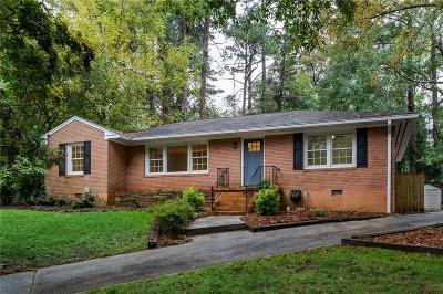 Single Family Home For Sale: 1245 Briar Hills Drive NE
