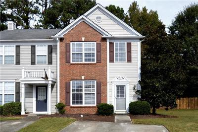 Kennesaw Condo/Townhouse For Sale: 1763 Stanwood Drive NW