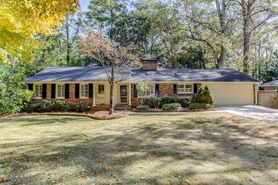 Sandy Springs Single Family Home For Sale: 4545 Jolyn Place