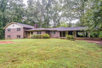 Cherokee County Single Family Home For Sale: 6497 Reinhardt College Parkway