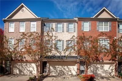Norcross Condo/Townhouse For Sale: 3265 Greenwood Oak Drive