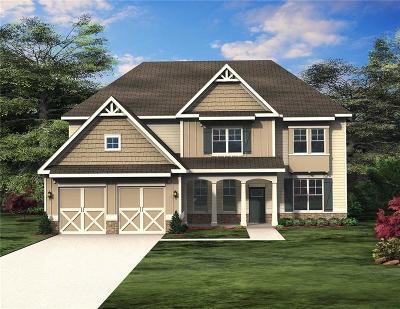 Cumming Single Family Home For Sale: 5955 Hidden Ridge Court