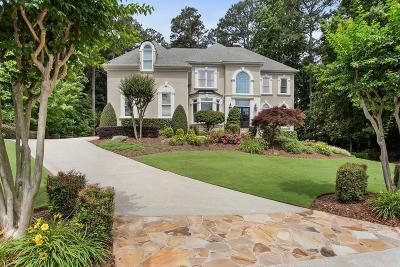 Alpharetta Single Family Home For Sale: 1045 Bay Pointe Crossing