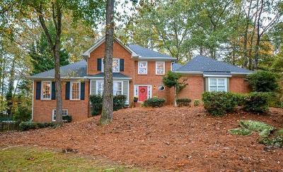 Suwanee Single Family Home For Sale: 112 Oakwood Hills Drive