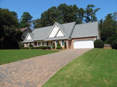 Roswell Single Family Home For Sale: 10500 Turner Road