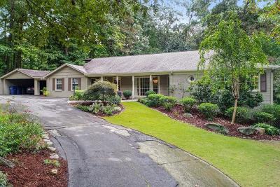Atlanta Single Family Home For Sale: 976 Swathmore Drive NW