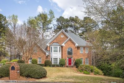 Sandy Springs Single Family Home For Sale: 7615 Wolf Brook Drive