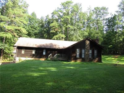 Woodstock Single Family Home For Sale: 1555 Jep Wheeler Road