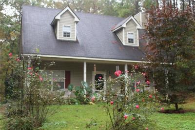 Monticello Single Family Home For Sale: 9092 Rock Eagle Road