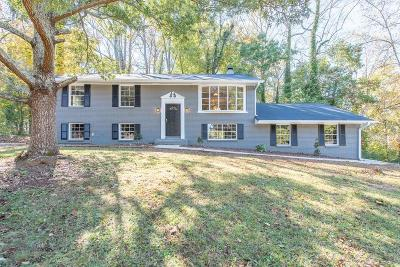 Stone Mountain Single Family Home For Sale: 1431 Walnut Ridge Way