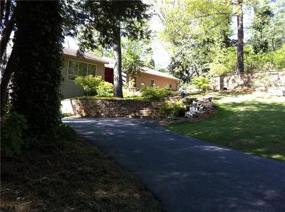Sandy Springs Single Family Home Contingent-Due Diligence: 135 River North Drive