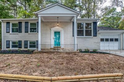 Chamblee Single Family Home For Sale: 3828 Admiral Drive