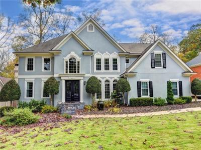 Peachtree Corners, Norcross Single Family Home For Sale: 5726 Fairley Hall Court