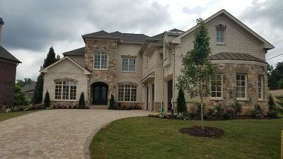 Marietta Single Family Home For Sale: 1200 Windsor Estates Drive