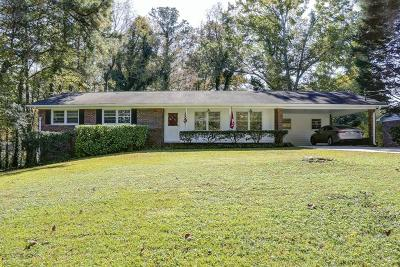 Alpharetta GA Single Family Home For Sale: $375,000