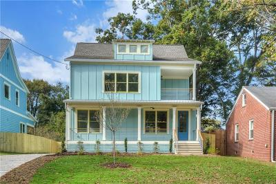 Atlanta Single Family Home For Sale: 215 S Howard Street SE