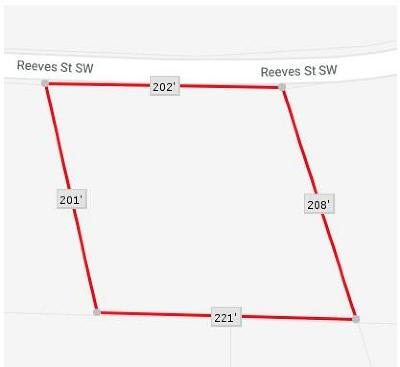 Residential Lots & Land For Sale: 4000 Reeves Street SW