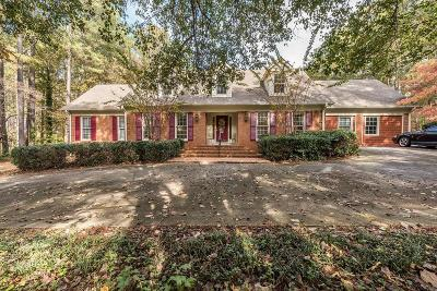 Acworth Single Family Home For Sale: 4866 Clark Lake Way NW