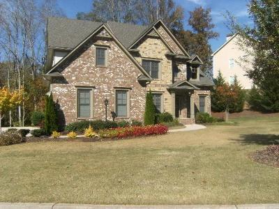 Ball Ground Single Family Home For Sale: 8510 Hightower Ridge