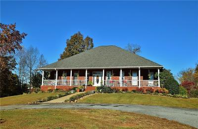 Habersham County Single Family Home For Sale: 460 Alto Mud Creek Road