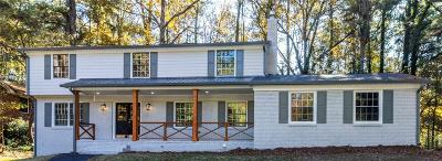 Atlanta Single Family Home For Sale: 3196 Mangum Lane SW