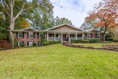 Atlanta Single Family Home For Sale: 1702 Crestline Drive