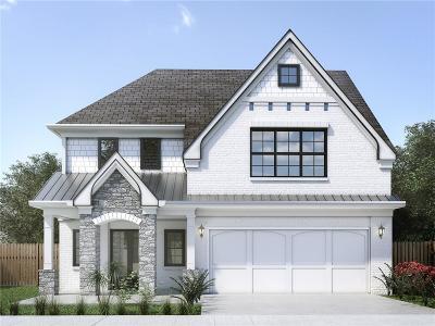 Smyrna Single Family Home For Sale: 1498 Walker Street SE