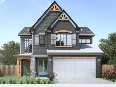Smyrna Single Family Home For Sale: 1502 Walker Street SE