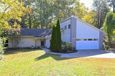 Marietta Single Family Home For Sale: 1052 Indian Hills Parkway
