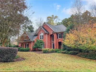 Alpharetta Single Family Home For Sale: 8300 High Hampton Chase